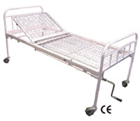Hospital Bed Stead Two Section, Mechanical (SWE-111230)