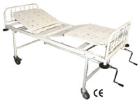 Hospital Bed Stead Four Section, Fowler Position (SWE-112112)