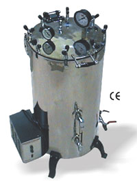 High Pressure Vertical Steam Sterilizer (SS-703075)