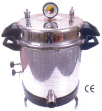 Autoclave Aluminium (Sterilizer) Vertical Pressure Type Electric Turning Type (SS-705524)